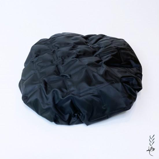 Deep Conditioning Microwavable Cap - black